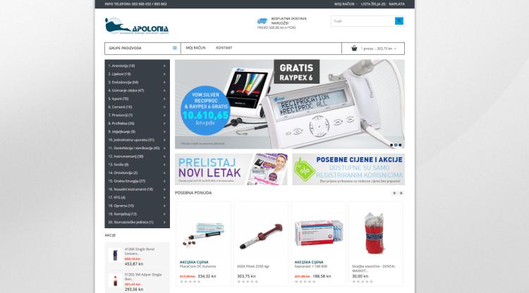 Naš novi web shop