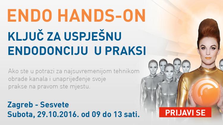 Radni tečaj iz strojne endodoncije – Najnovije tehnike instrumentacije VDW.Reciproc – Zagreb 29.10.2016.