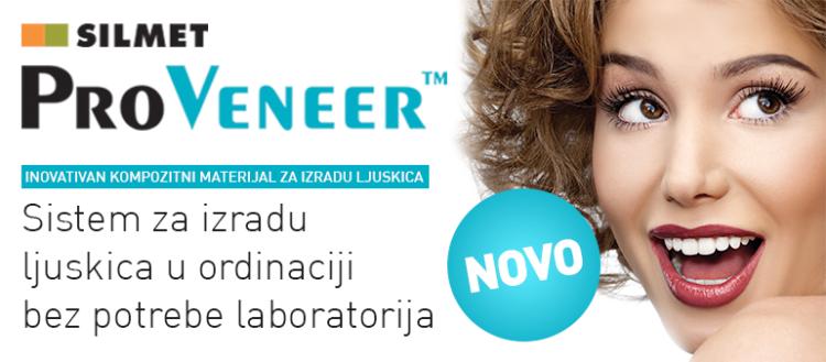 ProVeneer – inovativan i jedinstveni kompozitni materijal za izradu ljuskica u ordinaciji u svega nekoliko minuta
