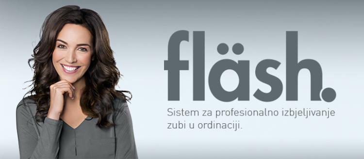 WHITEsmile Flash – Sistem za profesionalno izbjeljivanje zubi
