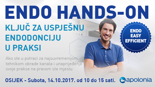 Radni tečaj iz strojne endodoncije – Najnovije tehnike instrumentacije VDW.Reciproc – Osijek, 14.10.2017.